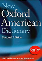 Обложка New Oxford American Dictionary