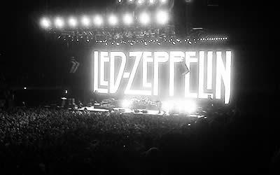 Zeppelin live at O2 Londres en el día de ayer