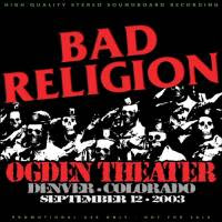 Bad Religion Live in Denver 2003 Front Cover