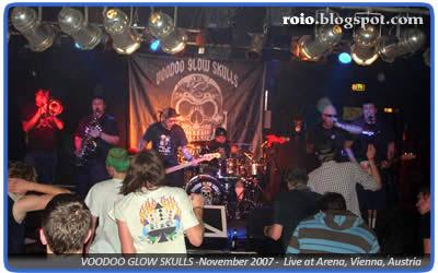 Voodoo Glow Skulls live in Vienna, Austria. Noviembre 27 de 2007