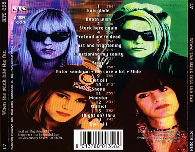 L7 When The Stink Hits The Fan (Bootleg Liberado) Arte Frontal