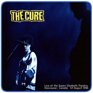 The Cure live in Vancouver 1996