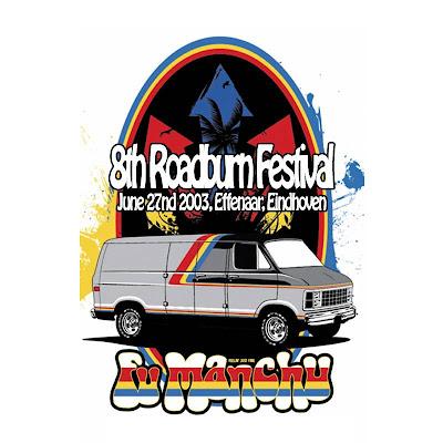 Fu Manchu Roadburn 2003 caratula frontal / front cover