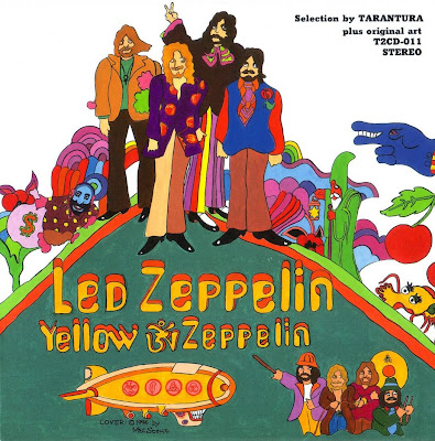 Yellow Zeppelin 1969 Front