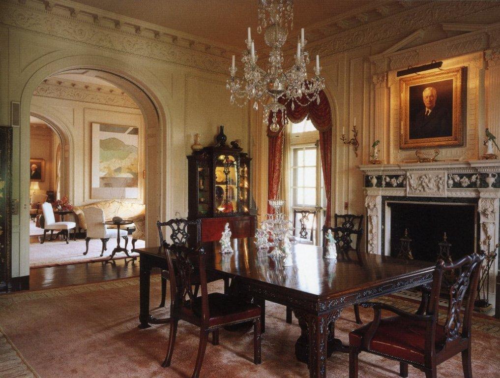 My musings kykuit the rockefeller mansion - D house interior ...