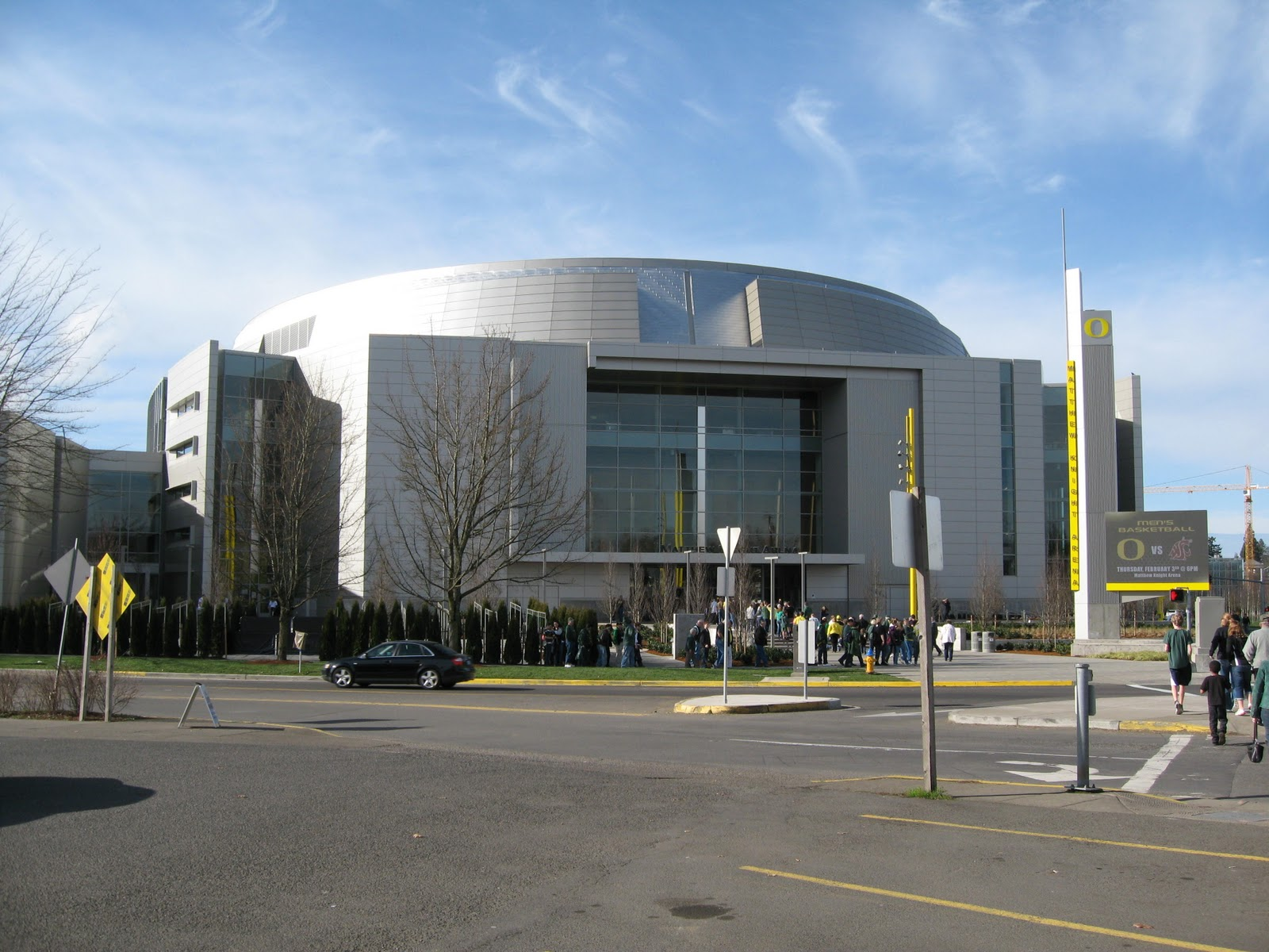Sw Oregon Architect Matthew Knight Arena A New Landmark