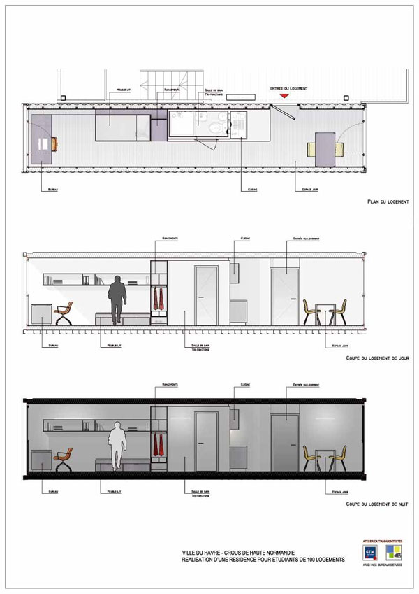 Container House Cad Joy Studio Design Gallery Best Design