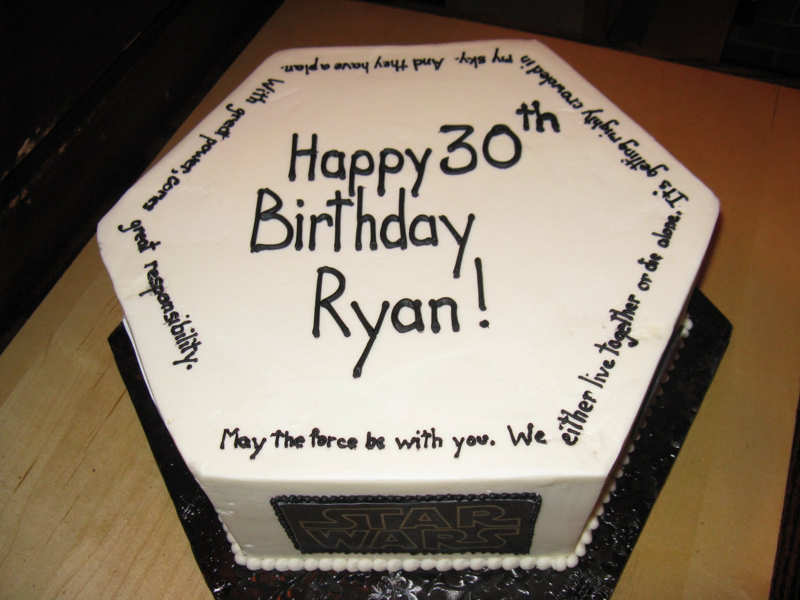 Male 30th Birthday Cake Ideas Quotes