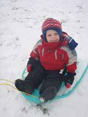 My first sledding trip!