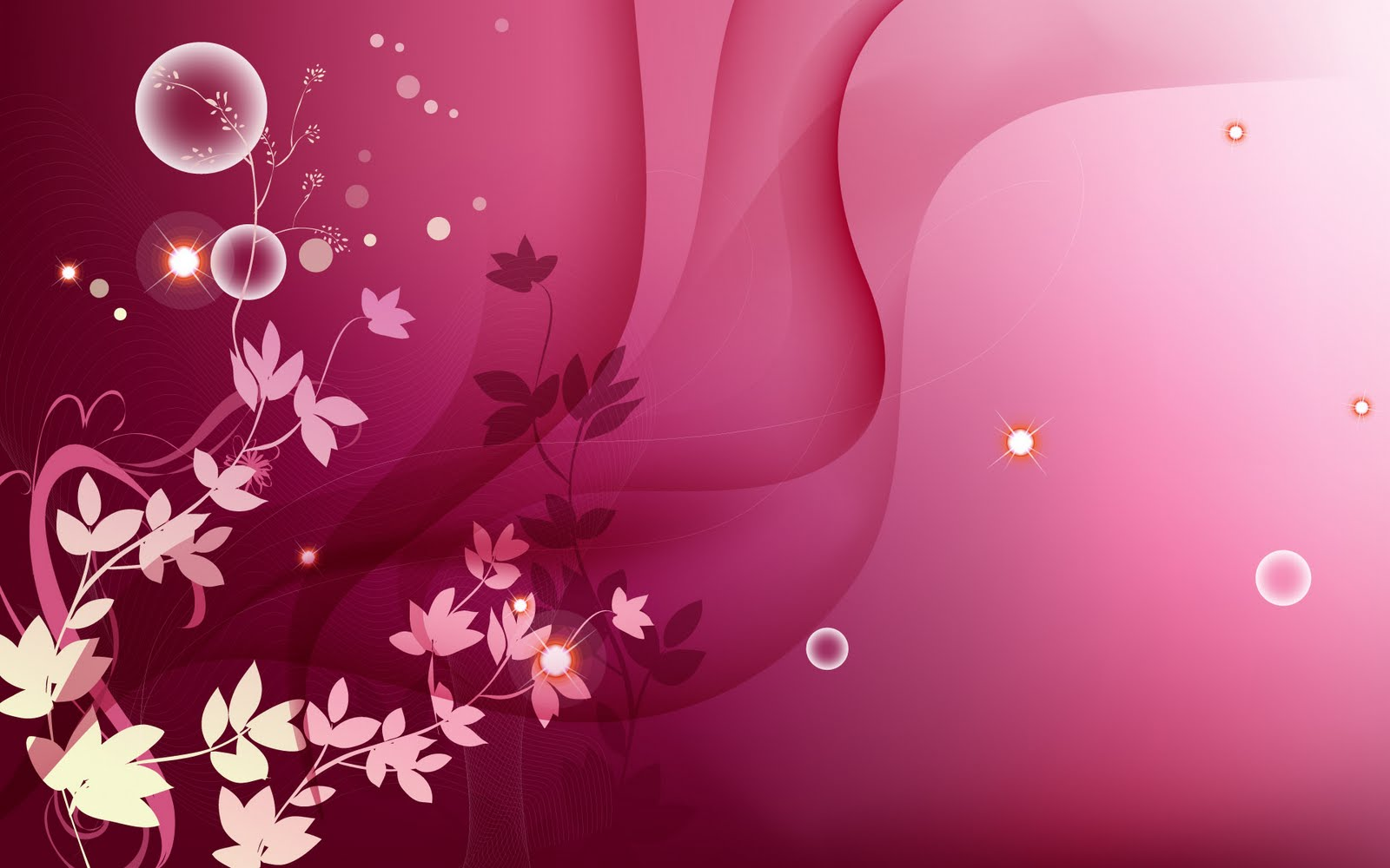 Beautiful Floral Vector Wallpapers Free Download 1920x1200