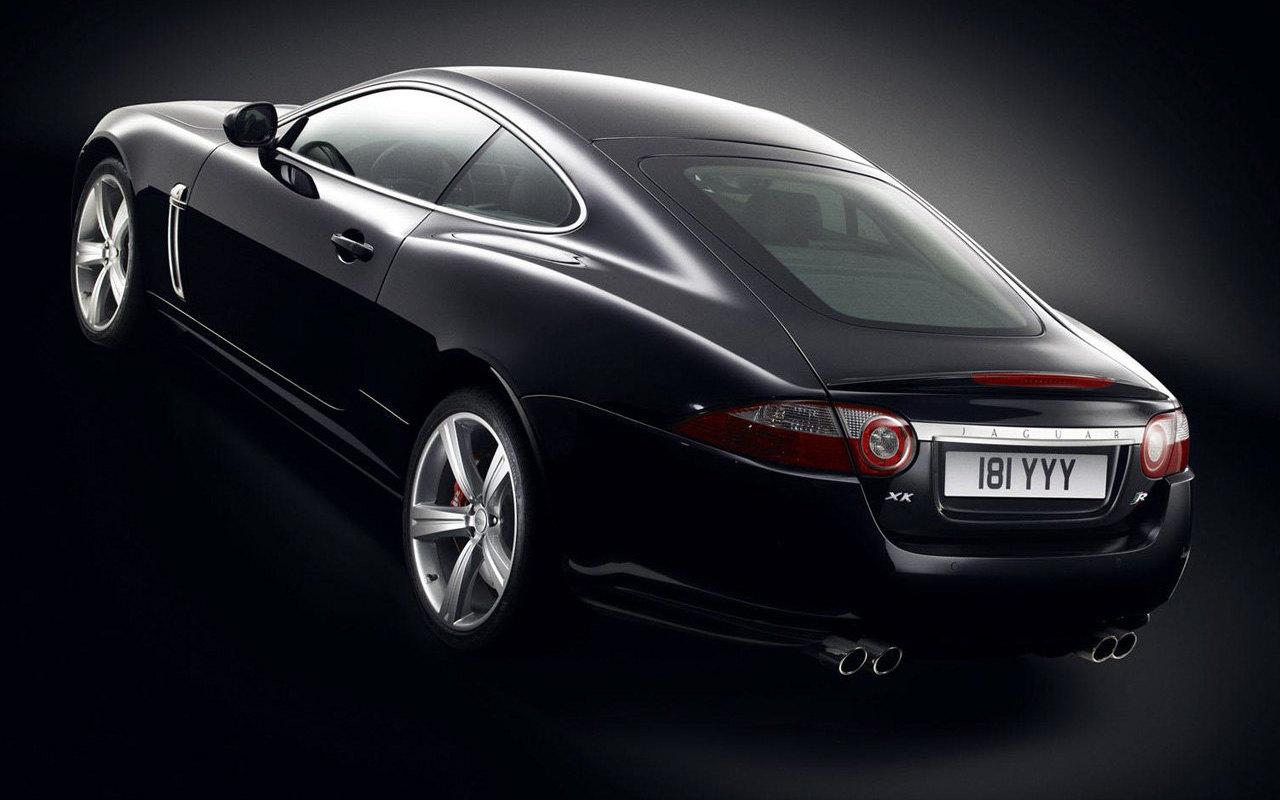 Jaguar XKR 2 Black HD Car Picture Download: