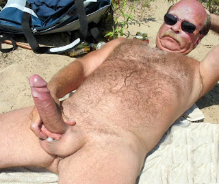 Hung Cock Mature Man Shows Hairy