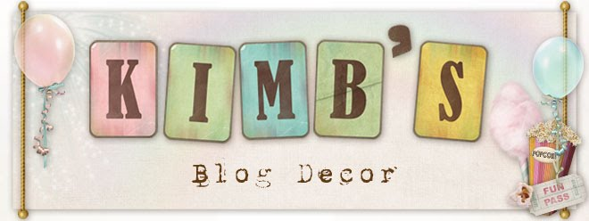 KimB's blog decor