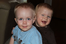 Caleb with his buddy Treven