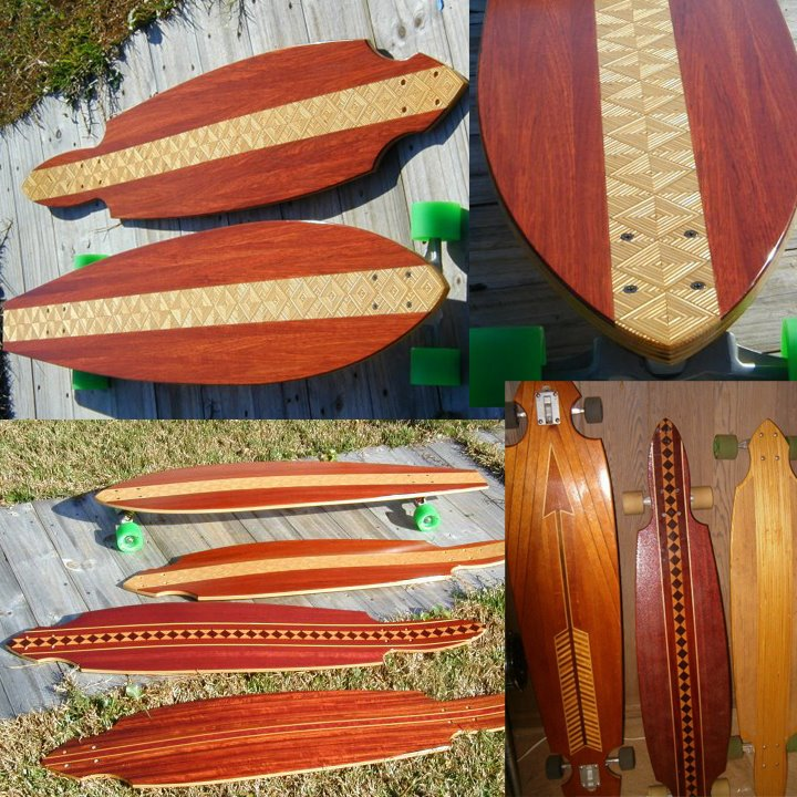 Sometimes Uncle Brian Makes Skateboards and Longboards