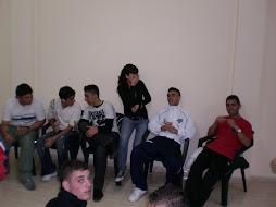 ... y DESPUÉS fiesta con jóvenes de Arona y del Valle San Lorenzo