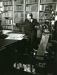 Filming Kenneth Clarke in the Royal Library at Windsor Castle for the BBC series Civilisation