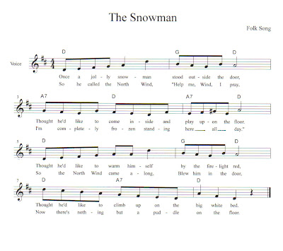 The Snowman sheet music