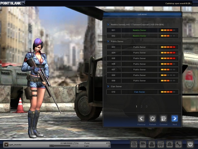 pb point blank. point blank indonesia. jak