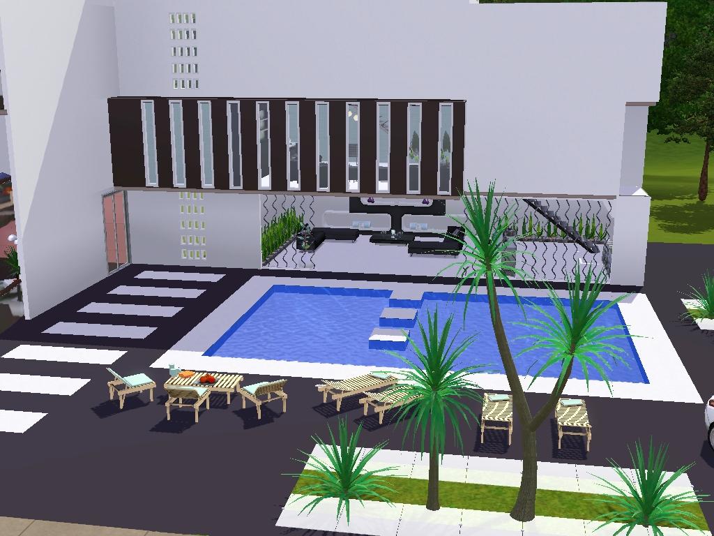 luxury house sims 3
