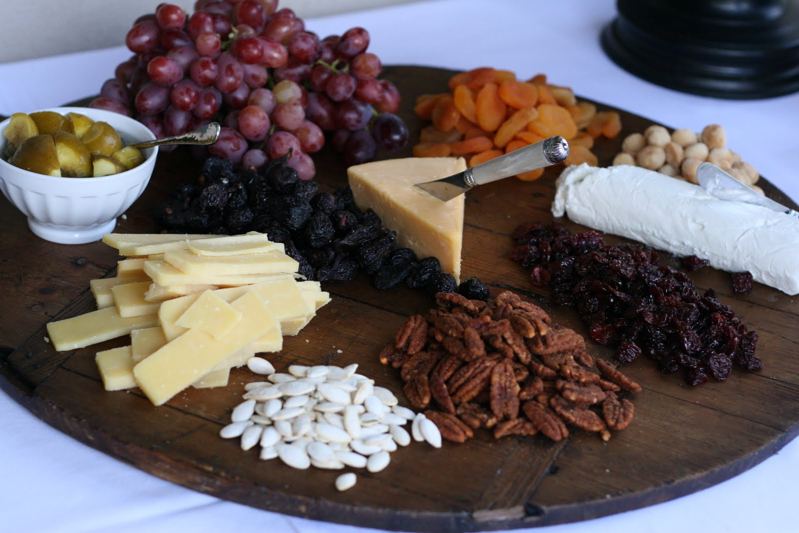 & Dried Fruit and Cheese Platter for Fall