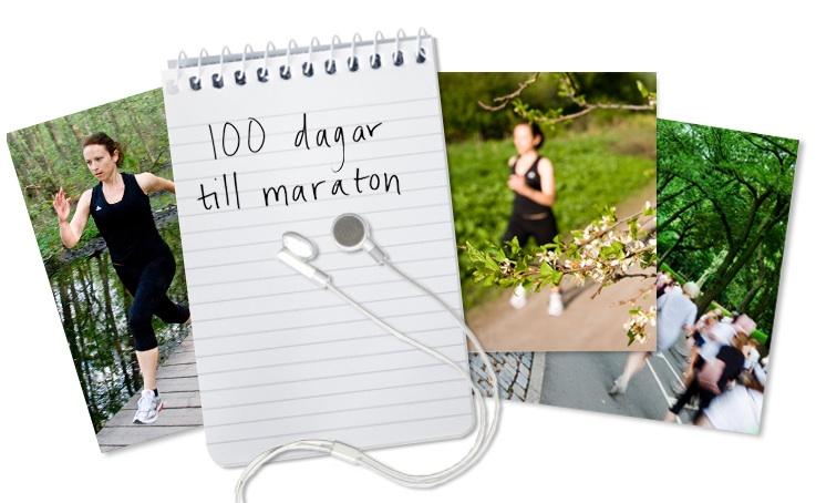 100 dagar till maraton