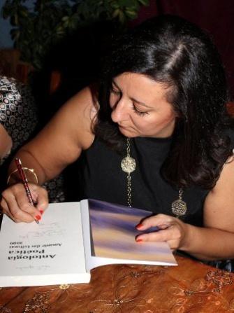 fotos lançamento antologia poética