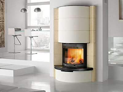 Italian luxury modern design fireplaces wood burning for Luxury fireplace designs