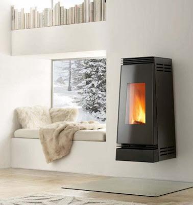 Italian luxury modern design fireplaces wood burning - Contemporary wood furniture burning fireplaces ...