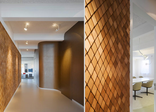 Modern Textures And Cool Office By Ippolito Fleitz Group