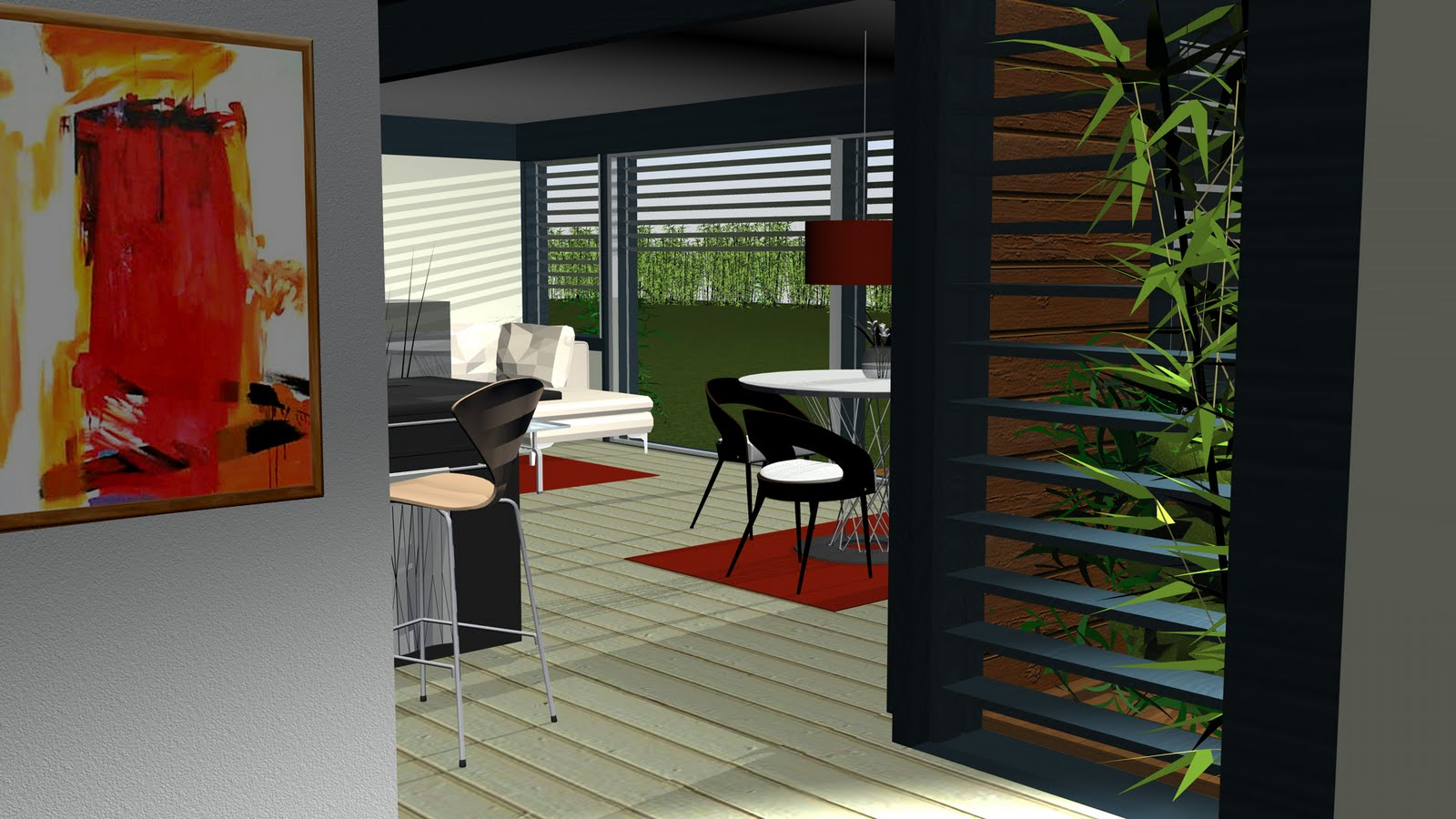 Cl mence peign architecte d 39 int rieur cp ai visuels 3d for Architecte d interieur prix