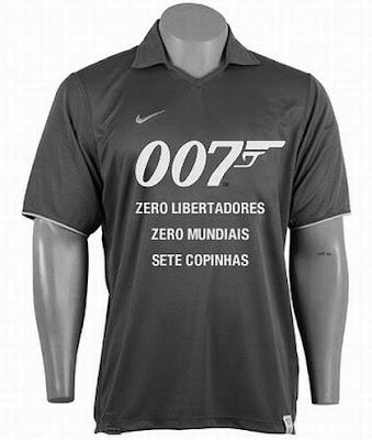 James Bond 007 é o Corinthians.