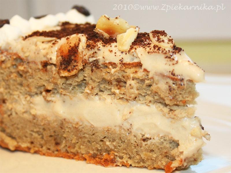 Tort Migdalowo Kawowy I Mala Prosba Z Piekarnika Daga Kulesza