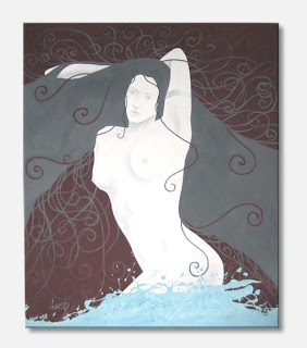 pintura Burity - Iemanjá