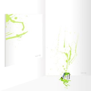 estudo - verde - tinta - parede - tela