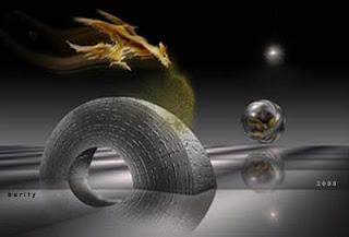 digital imagem - o beijo do dragão