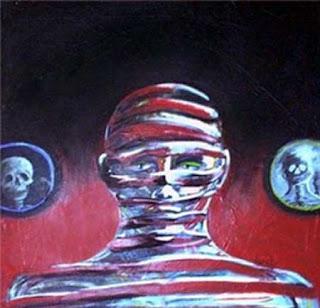 pintura burity - Série hospício