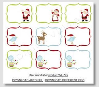 imagem - christmas - labels