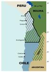 Mapa durante la guerra