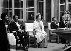Queen Elizabeth and her Ethiopian Monarch hosts