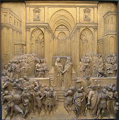 Renaissance Relief of King Solomon and Queen of Sheba