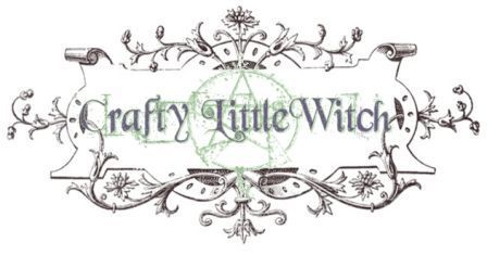 crafty little witch...