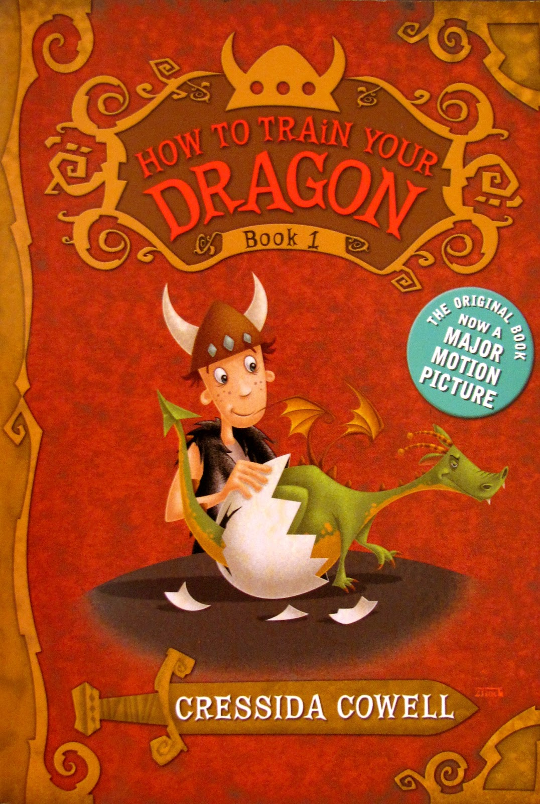 joie de lire note of warning how to train your dragon