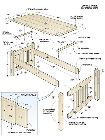 Free Woodworking Plans Table