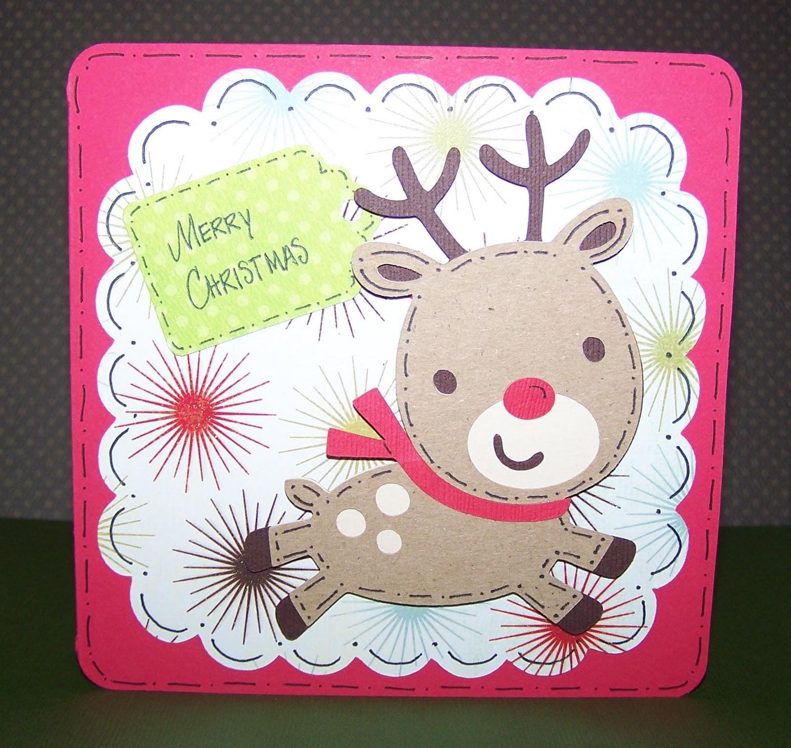 Christmas Card Cricut Ideas Holliday Decorations