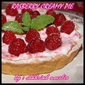 RASBERRY CREAMY PIE