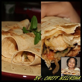 GARLIC TORTILLA WITH CHEEZE CHICKEN MINTS