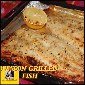 LEMON GRILLED FISH