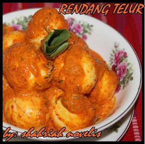 RENDANG TELUR AYAM