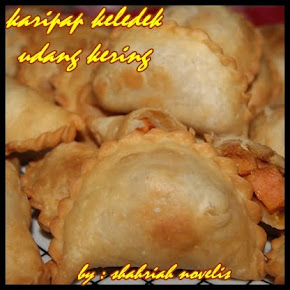 KARIPAP KELEDEK UDANG KERING